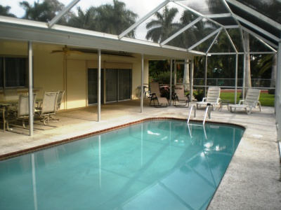pool home florida